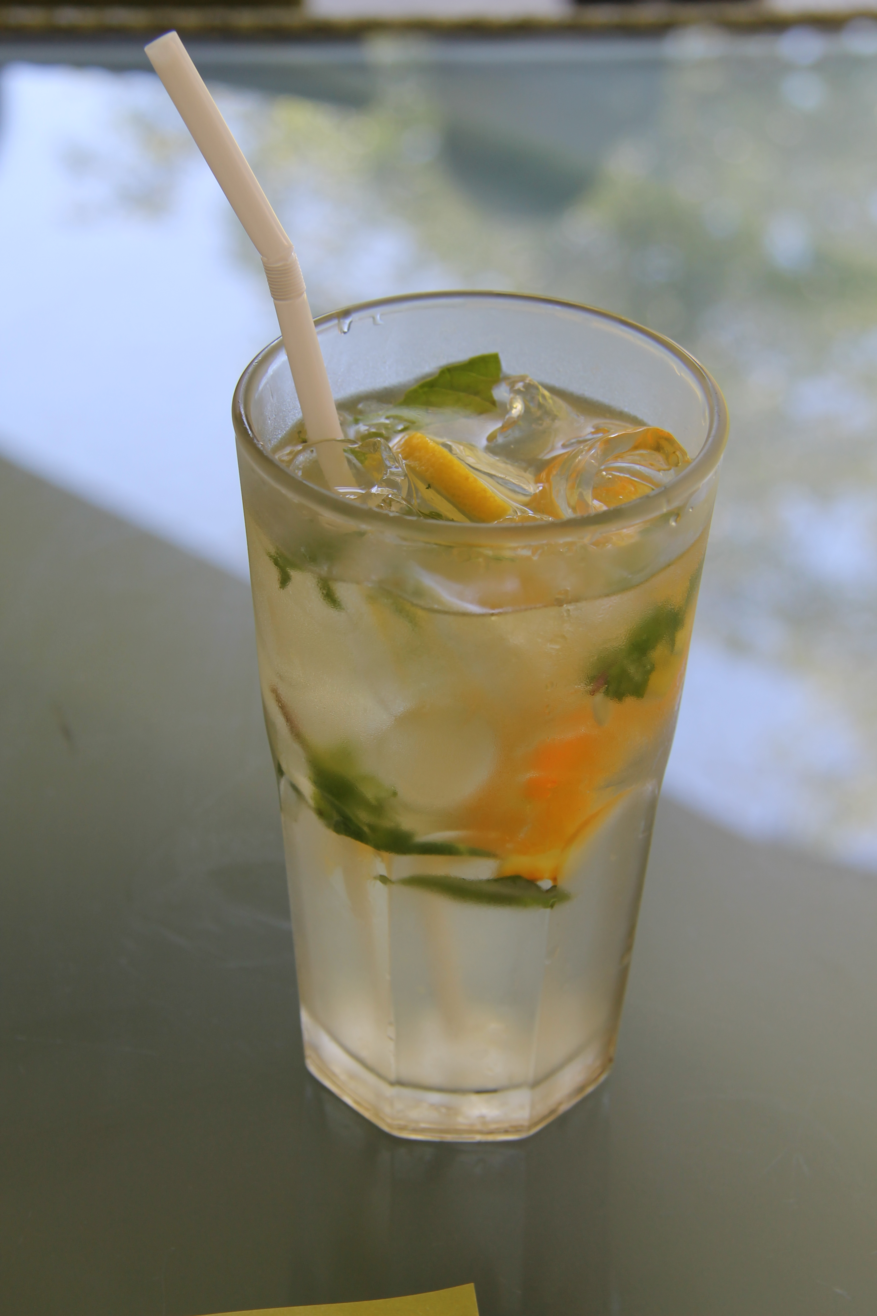Cucumber-Basil Lemonade With Lemongrass Recipes — Dishmaps