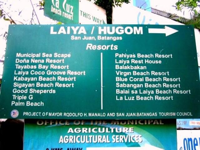 How to get to Laiya | LAKWATSA