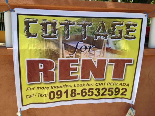 The cottages can accommodate 5-6 people sardines-style, but chap for P1,500 overnight (24 hours)