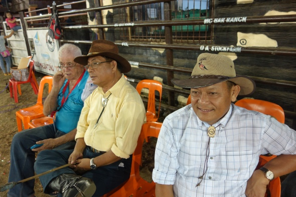 The president of Rodeo Masbateno, Inc was there - - Judge Manuel Sese