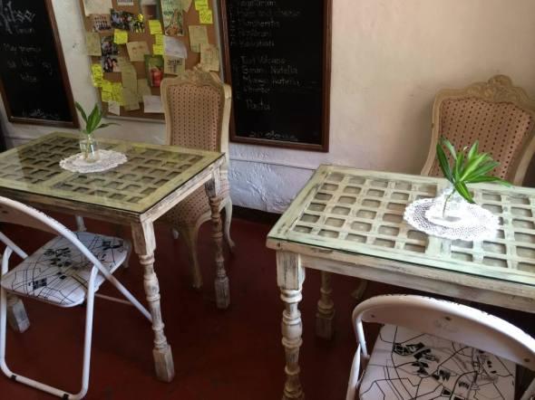 interesting cafe furniture