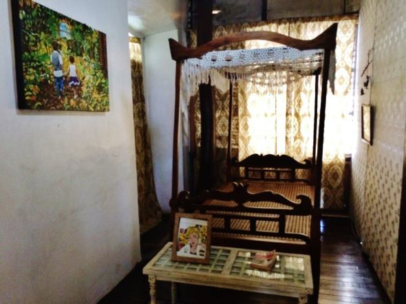 the second room, each at P850, with breakfast. No aircon, with bathroom downstairs