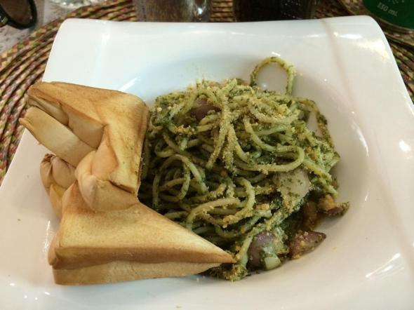my pesto tinapa was great and sufficient for lunch