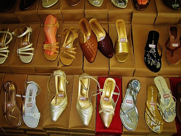 shop for shoes and bags - - this is Cebu's Marikina