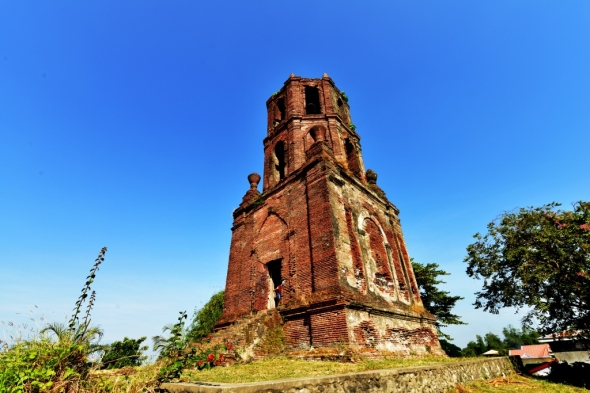 Bantay belltower, outside of Vigan