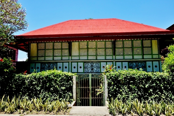 This beautiful house is where the Bishop stays when in Ticao