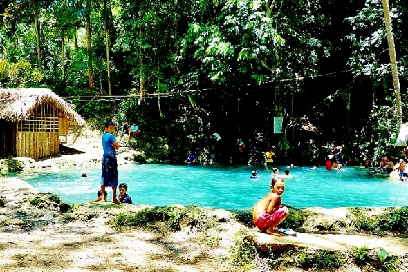 Matang Tubig is the most famous local destination. It is a bathing pool from a natural spring. Refreshing.