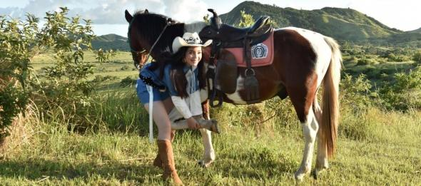 Be a cowboy or a cowgirl at the Rodeo Masbateno, Inc Ranch Life offer