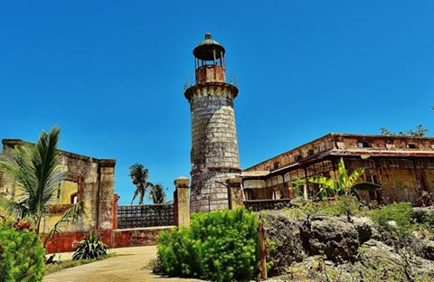 Punta Bugui Lighthouse. Aroroy