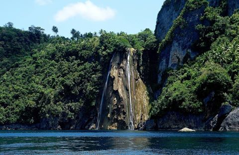 Catandayagan Falls. Approached from Buntod. Part of Ticao Island