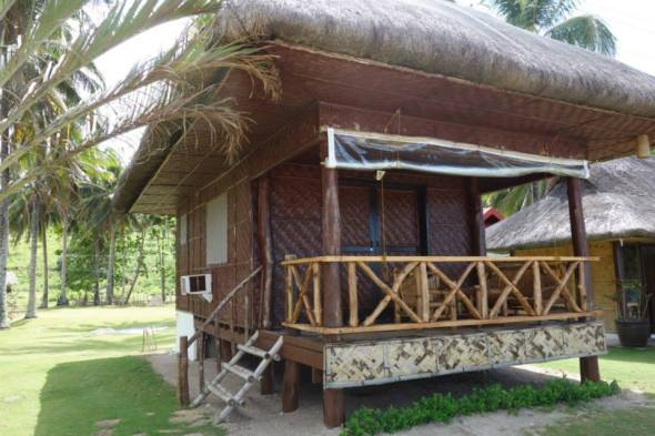 the very simple P7,000 a night cottage