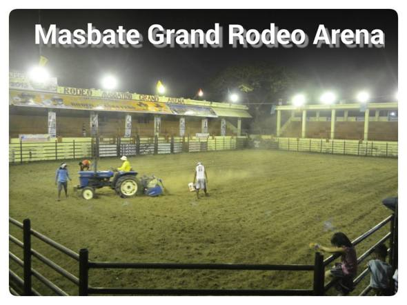 The Grand Rodeo Arena is within the city